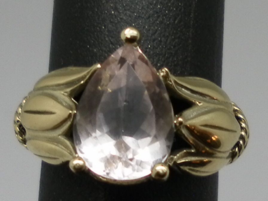 Vintage 14kt Kunzite Ring.