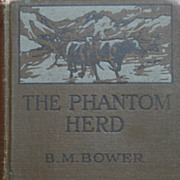 Bower, The Phantom Herd Hardback Book