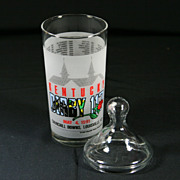1991 Lidded Kentucky Derby Glass  #117