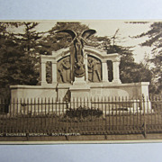 Vintage Original Titanic Postcard-Titanic Engineers Memorial, Southampton-Unused