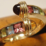 Estate 14K Tourmaline Ring