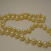 Vintage 14K Pearl Necklace