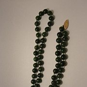 Vintage Jade Necklace