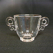 SALE Heisey Lariat Sugar Bowl