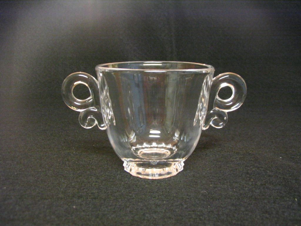 Heisey Lariat Sugar Bowl
