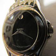 Movado Swiss Museum Black Face Women's Watch
