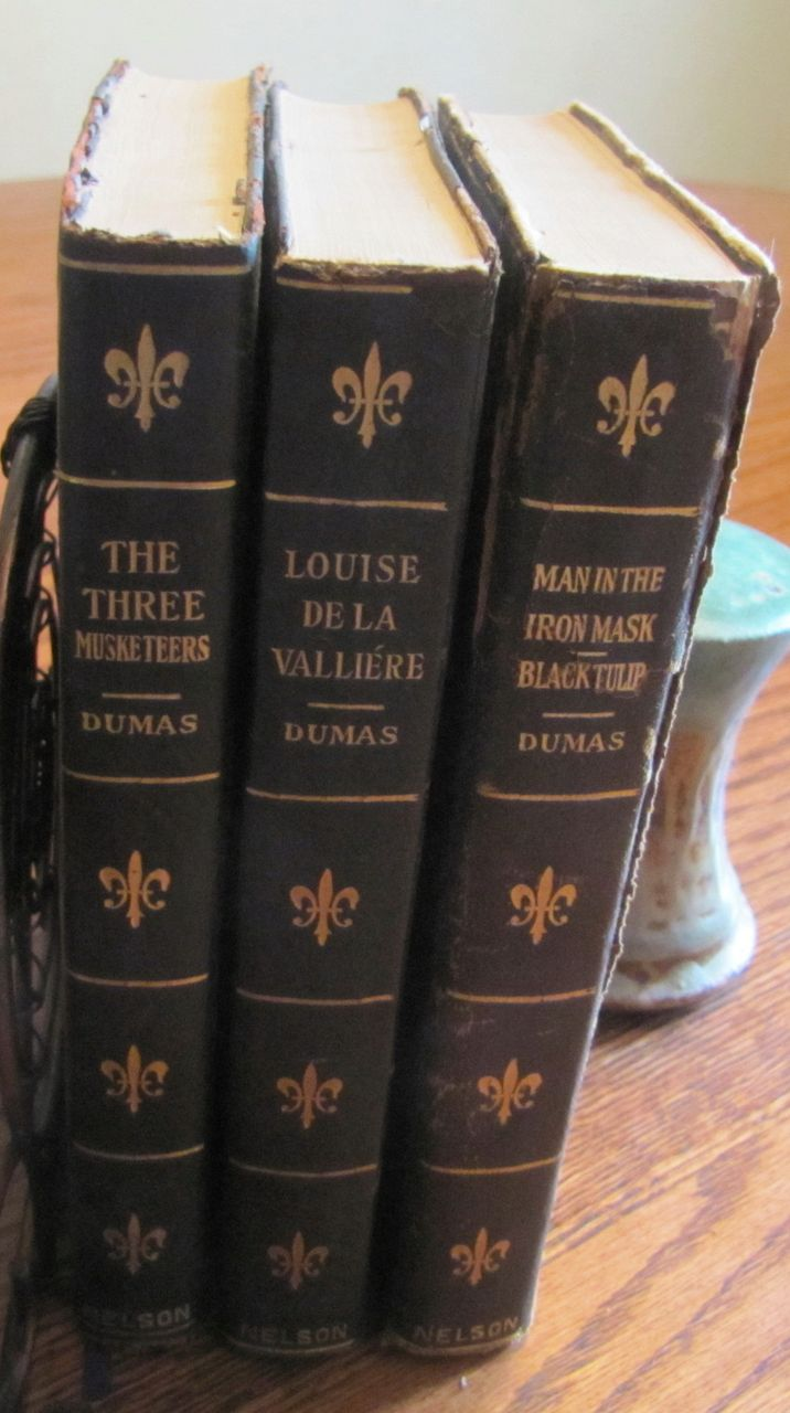 Antique (1900) Dumas Books Vicomte Braggelone Musketeers Iron Mask