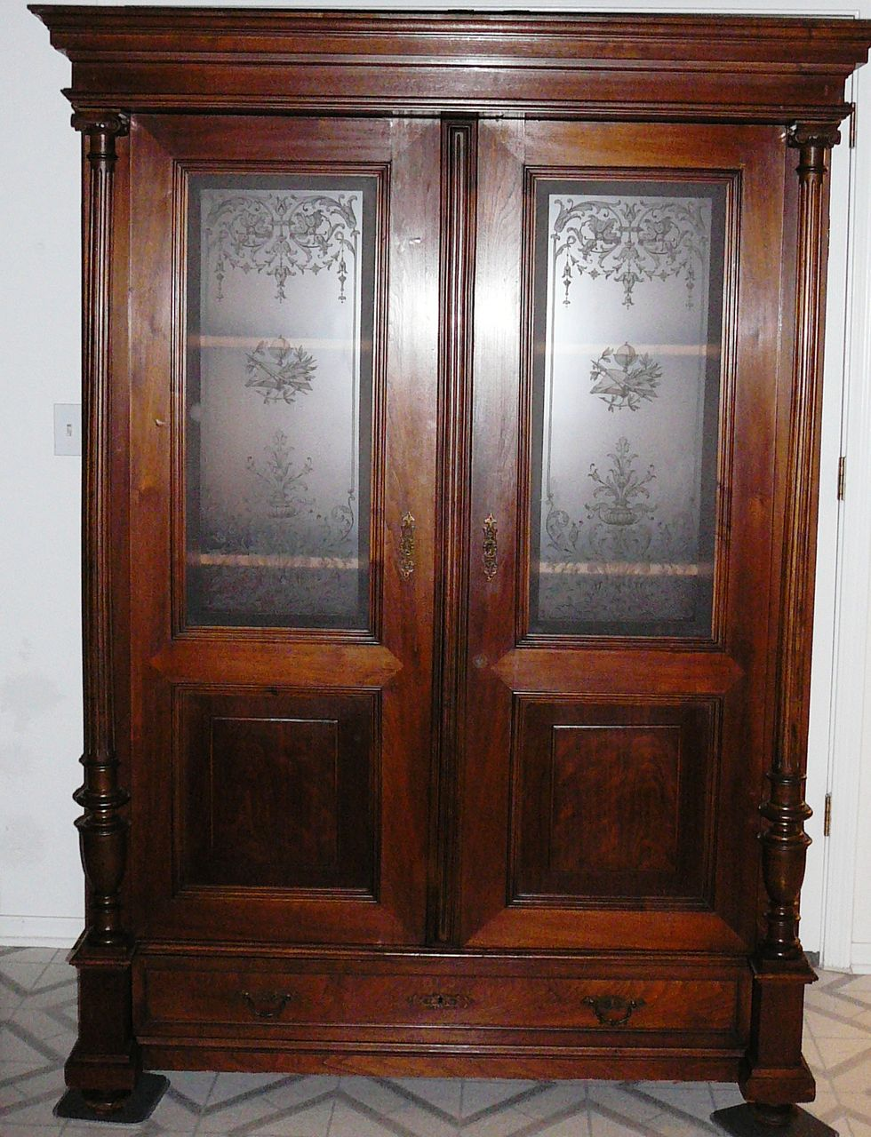 Antique Dutch  Cupboard From New York area