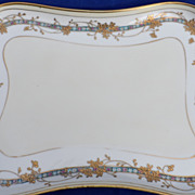 Lovely Hand Painted Nippon Vanity Tray