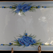 T&V Limoges Dresser Tray Hand Painted