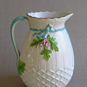 Majolica or Faience Jug, 1870's-80's