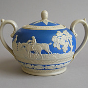 Spode Jasperware Sugar Bowl