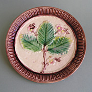 Majolica Dish, Japanesque Design