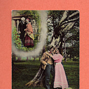 Bamforth & Co. Romantic Postcard ca. 1906