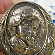 Henryk Winograd ~ CHILD PENDANT/ BROOCH ~ HW925 Sterling Silver