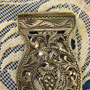SALE 800 Silver ~ Medici Coat of Arms Desk Clip ~ Italy Crest