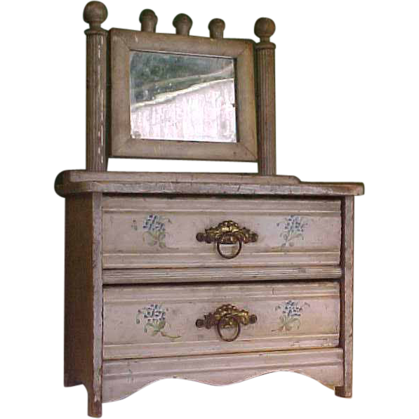 Old Fashioned Eastlake Style Doll Dresser From Bluebonnethillantiques On Ruby Lane