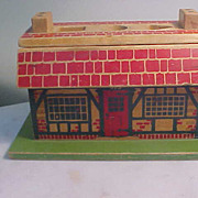 Vintage Wooden This is the House that Jack Built Toy by Holgate Toys