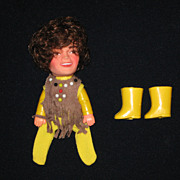 SALE Original Mickey Dolenz Monkees Finger Puppet with Boots