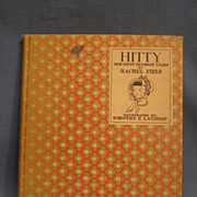 Hitty Her First Hundred Years by Rachel Field 1935 Edition