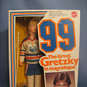 Mint in Box Wayne Gretzky Doll Mattel The Great Gretzky 99
