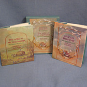 SALE Tasha Tudor 1st Miniature Edition 2 Book Set The Lord Is My Shepherd and Give Us This Day