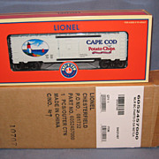 SALE Rare Variation 2007  NETCA  Cape Cod Potato Chip Lionel  Boxcar