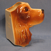 SALE Royal Copley Head Vase Cocker Spaniel