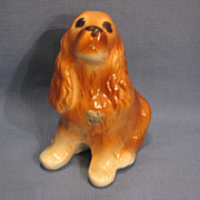 SALE Royal Copley Cocker Spaniel Figurine Vintage