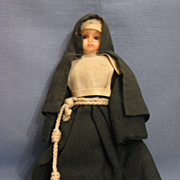 10 Inch Wax Nun Doll