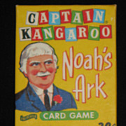 Captain Kangaroo Noah's Ark Card Game MINT SEALED