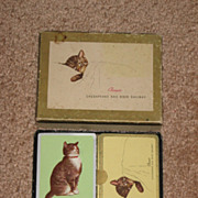 Chessie Chesapeake and Ohio Railroad Double Deck Playing Cards in Box