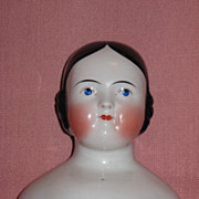 23 Inch Covered Wagon China Head Doll