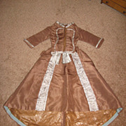 SOLD Vintage French Fashion 2 Piece Outfit Needs TLC