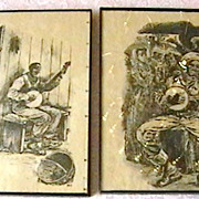 Pair of African American Art Prints