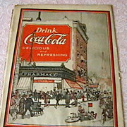 Original Early Coca Cola Advertisement
