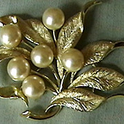 Bold Beautiful Brooch, signed