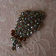 Impressive Bold Rhinestone Brooch