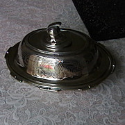 Hotel Silver, covered individual  dish