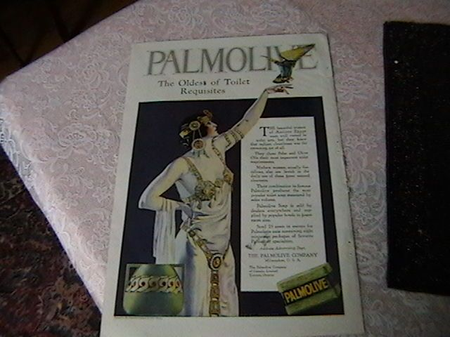 Original Palmolive Ad illustrated by Coles Phillips