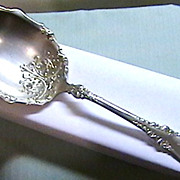 Exquisite Vintage Silver Plated Berry Spoon