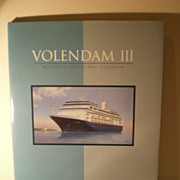 Holland America Ship VOLENDAM III book