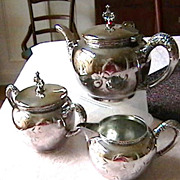 Vintage Silverplated Tea Set