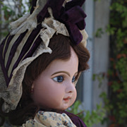 REDUCED Stunning Antique French Tete Jumeau Depose doll E12J - 1885