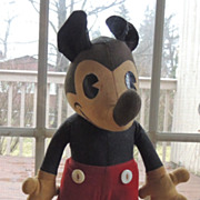 Knickerbocker Circa 1930 Pie Eyed Mickey Mouse