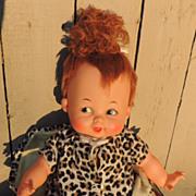 Ideal Baby Pebbles Flintstone 1960's