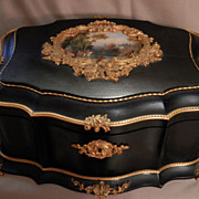 Antique French Signed Alphonse Giroux Jewelry Casket