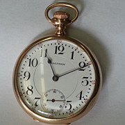 Antique 14K Gold WALTHAM Pocket Watch