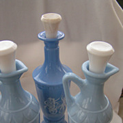 SOLD 1960s Jim Beam Whiskey Decanters Collector's Lot of 3