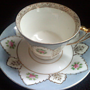 SALE Delicate Occupied Japan UCAGCO Demitasse Tea Cup and Saucer